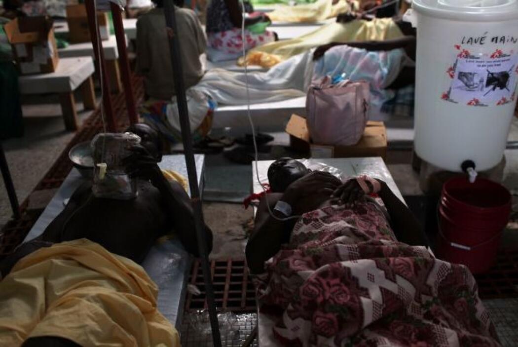 El brote de cólera por otra parte ha dejado hasta el momento unos 544 mu...
