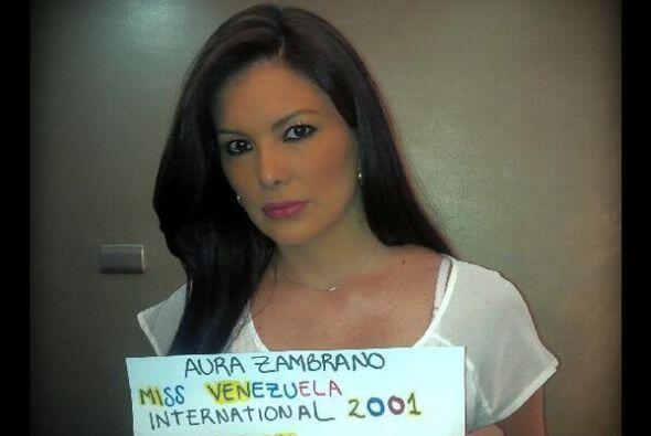 Aura Zambrano, Miss Venezuela Internacional 2001, pidió ayuda y r...