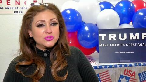 Grupos latinos que apoyan a Donald Trump se preparan para trabajar con e...