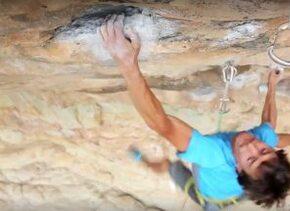 Los escaladores profesionales Katie Lambert y Mason Earle viajaron a La...