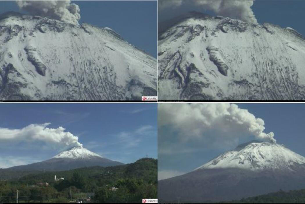 Si el volcán estallara temen una explosión explosiva y con flujos pirocl...