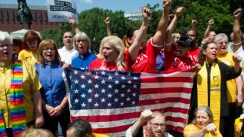 Los inmigrantes volverán a las calles aprovechando la visita del Papa Fr...