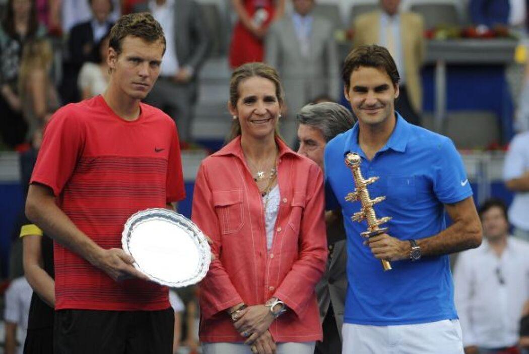 La infanta Elena premió a los jugadores.