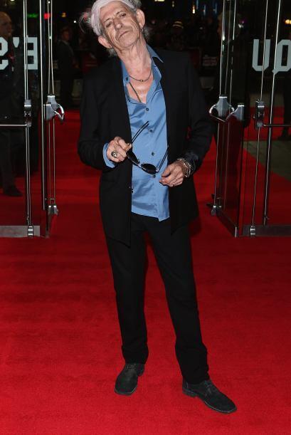 Aunque no lo crean el integrante de los 'Rolling Stone', Keith Richards...