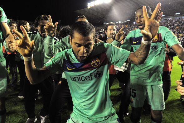 Obviamente, Alves mostraba sus raíces brasileñas con algunos pasos de ba...