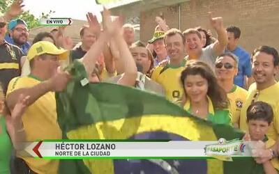 Brasileños en Chicago festejan victoria ante Croacia