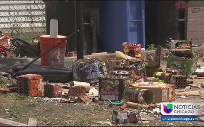 Vecinos molestos por abuso en el uso de fuegos pirotécnicos