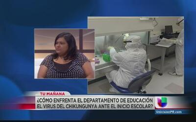 Educación se prepara contra el virus del chikungunya de cara a inicio de...