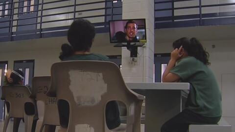 Noticiero Univision ingresó al centro de detención de inmigrantes
