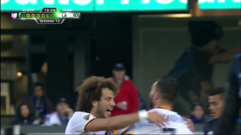 Goooolll!! Joao Pedro mete el balón y marca para LA Galaxy