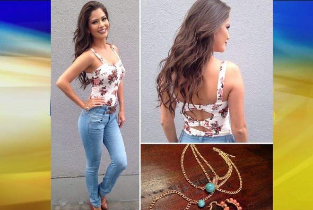 Agosto 6, 2014: ¡Viernes de jeans! Acompáñalos de una linda blusa y los...