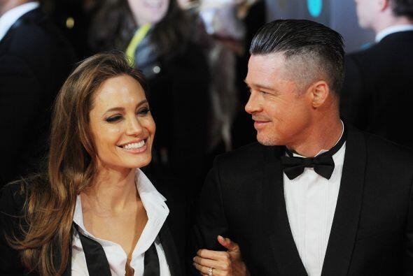 En esta ocasión este par fue sorprendido arribando a los Premios...