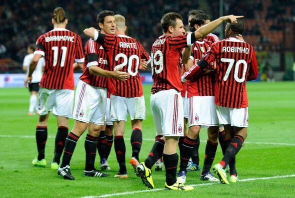 El Milan ganaba ante un rival falto de ideas.