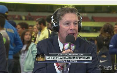 Peláez: Yo aporto lo mío, pero son los jugadores en la cancha los que ha...