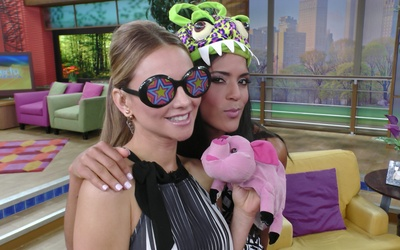 Ximena Córdoba y Francisca Lachapel