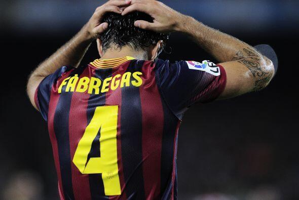 La desesperación en el Barcelona, aún con el global a su f...