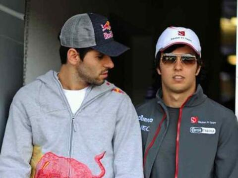 Sergio Pérez llegó con mucha confianza al Gran Premio de C...