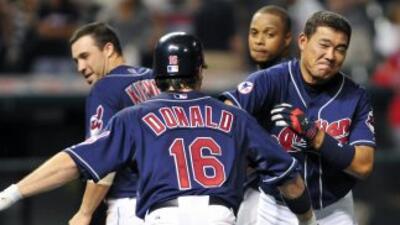 Los Indios de Cleveland ganaron increíblemente por una base por golpe en...