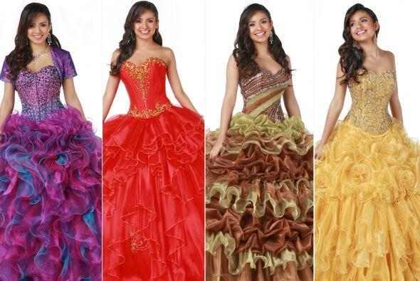 Disney Royal Ball, que comprende una serie de vestidos de XV años inspir...