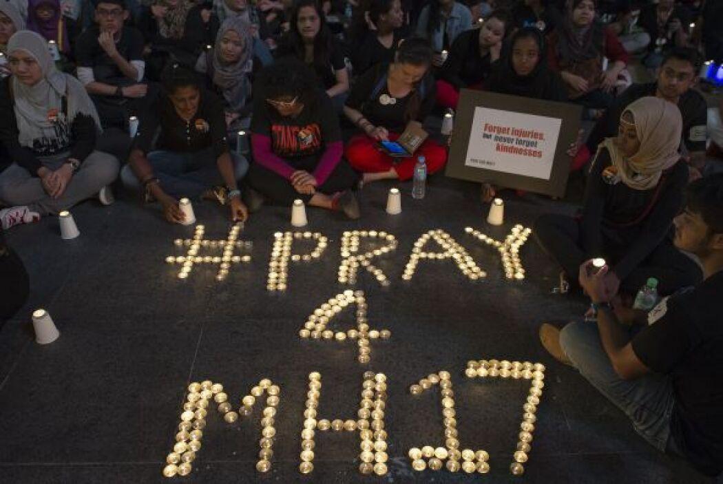 También hubo quienes se solidarizaron por medio de rezos y mensajes crea...