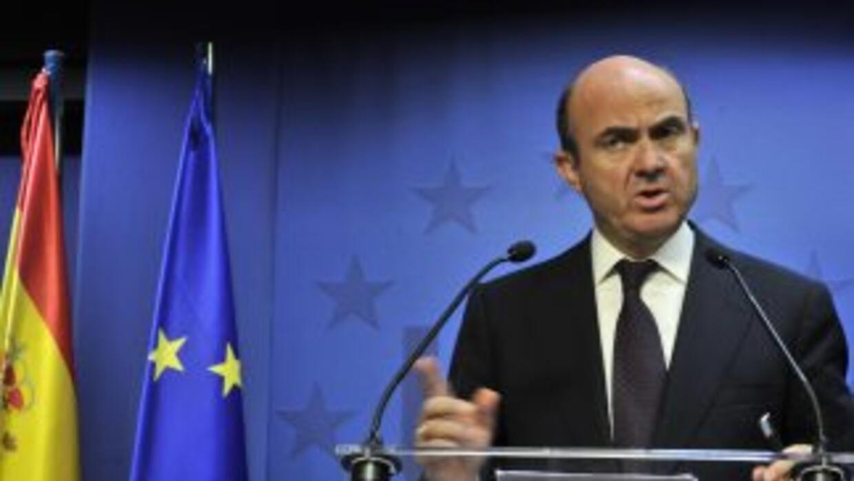 De Guindos recordó que la concesión de ayudas a través del Fondo Europeo...
