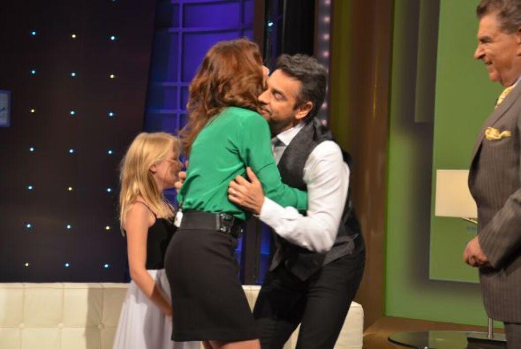 Alessandra Rosaldo apareció como sorpresa para Eugenio y también habló d...