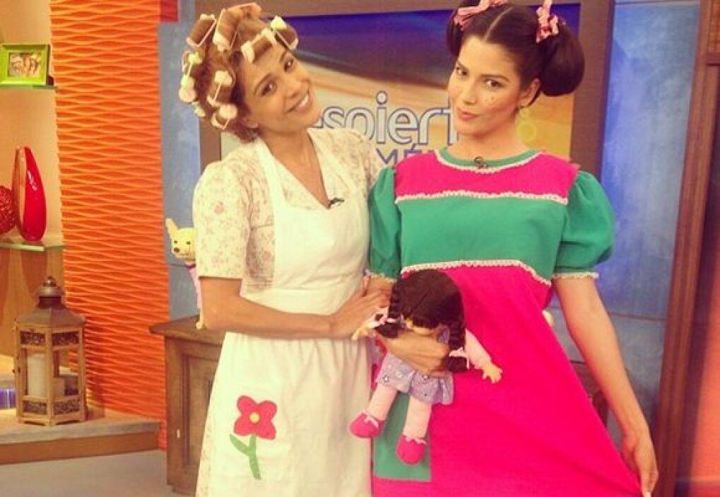 """""""Con mi tía #DoñaFlorinda #Popis #Serafina #YoAmoChespirito"""", compartió..."""