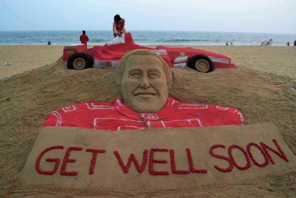 La vida de Michael Schumacher corre peligro, aunque los últimos p...