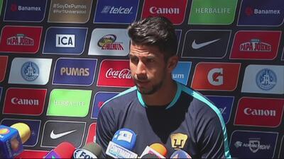 Eduardo Herrera: 'Pumas está a buen paso pero aún no hemos ganado nada'