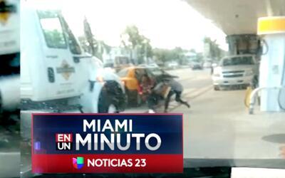 'Miami en un Minuto': buscan individuo que le habría quitado la cartera...