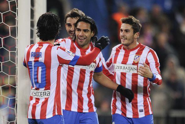 Cinco goles logró el colombiano para definir el triunfo del Atlético por...