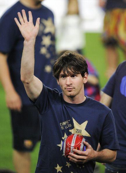 Sin duda alguna, el más ovacionado fue Lional Messi.