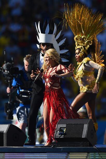Shakira en el cierre. Mira aquí los videos más chismosos.