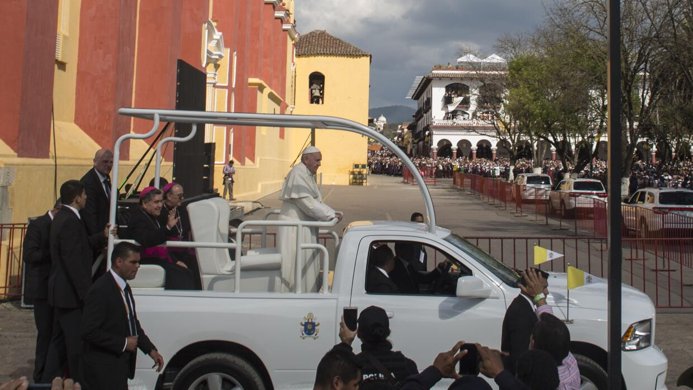 Papa Francisco San Cristobal