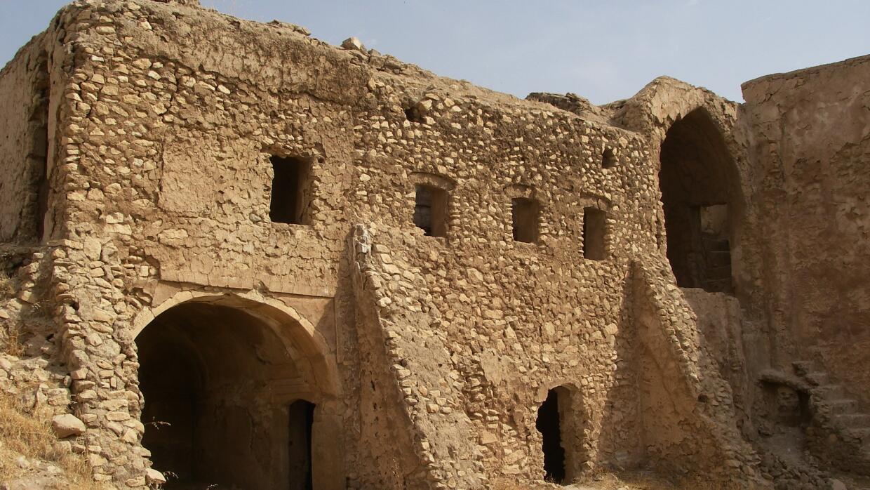 Monasterio cristiano destruido por ISIS