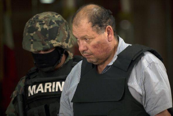 4 de septiembre. Autoridades mexicanas presentaron a Mario Cárden...