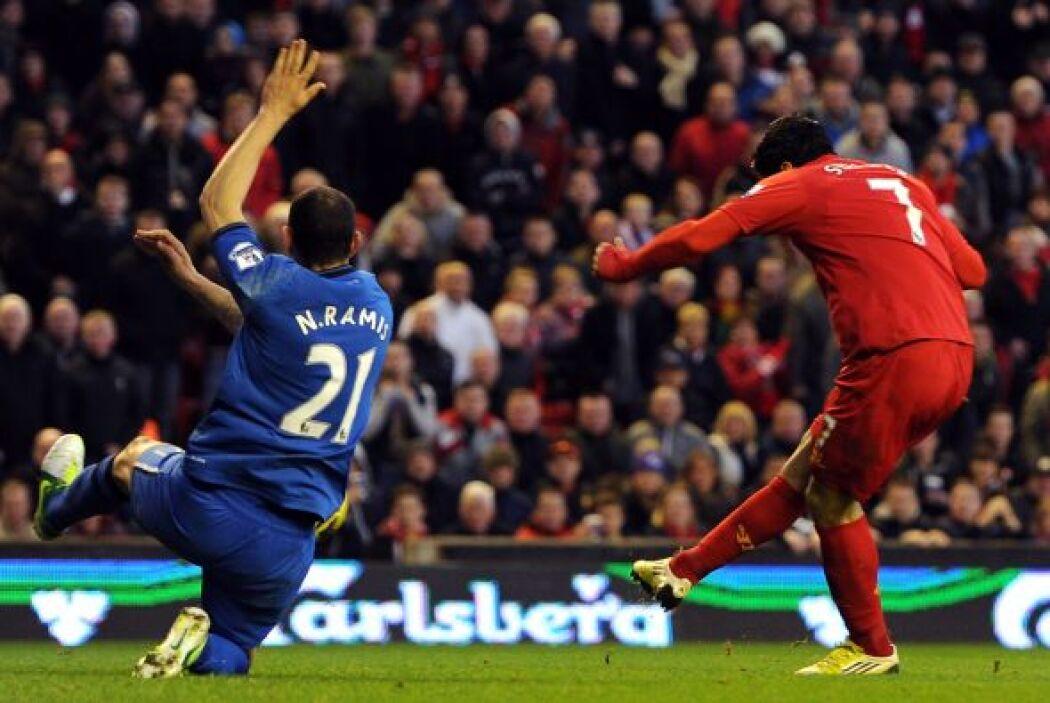 El hombre gol del Liverpool demostró que dicha responsabilidad no le pes...