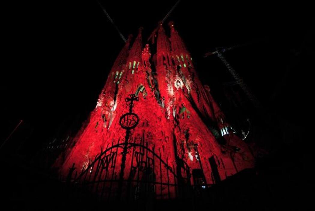La catedral de la Sagrada Familia en Barcelona