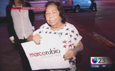 Reaccionan en Miami a la derrota de Rubio