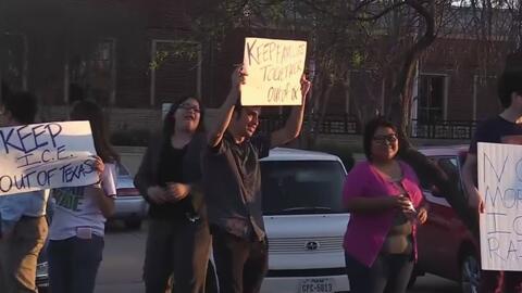 Realizan manifestación en contra de la policía de DeSoto por presuntamen...