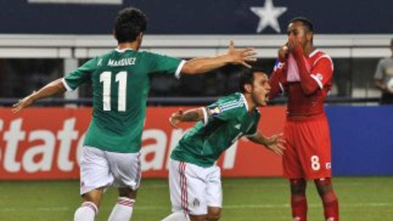 México contra Panamá.