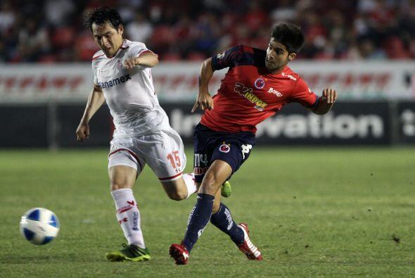 Luis Sánchez: El mediocampista veracruzano anotó el gol de...