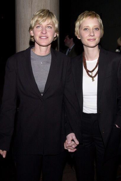 Un caso muy conocido es el de la conductora Ellen DeGeneres con la actri...