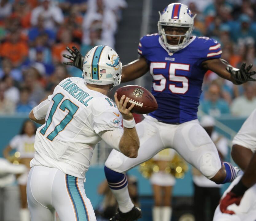 Los Buffalo Bills destrozaron a los Miami Dolphins y los derrotaron 41-1...