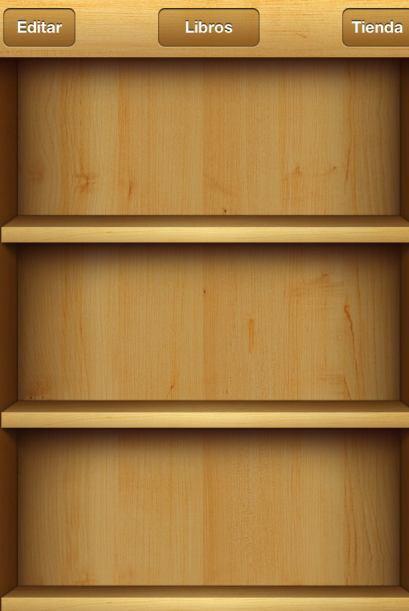 Explora su biblioteca en un elegante estante, pulsa un libro para abrirl...