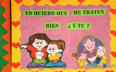 Maestros y alumnos forman 'escuadrón anti bullying' en Perú