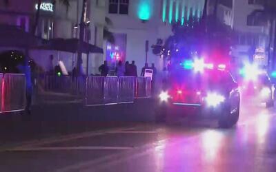 Reportan una balacera en Alton Road, en Miami Beach