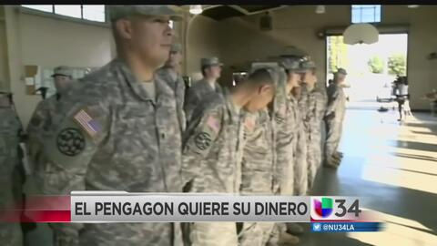 Pentágono pide a miles de militares y exmilitares de California restitui...