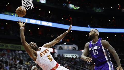 Atlanta Hawks venció 106-95 a Sacramento Kings,