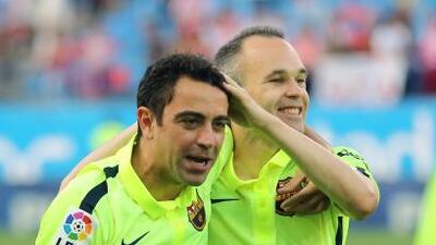 Este par de cracks son compañeros en el Barcelona desde la cantera en La...